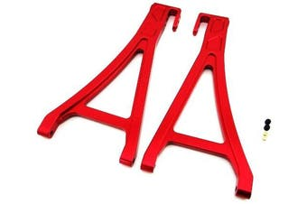 (Front Lower Arm, Red) - Atomik RC Alloy Front Lower Arm, Red fits the Traxxas 1/10 E-Revo and Other Traxxas Models - Replaces Traxxas Part 5331/5332