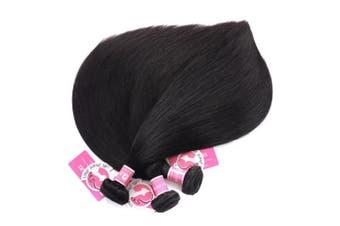 (14 16 18) - Ali Pearl Brazilian Virgin Human Hair 3 Bundles Unprocessed Straight Hair 3 Bundles Hair Extentions Wholesale Hair Deal (14 16 18)