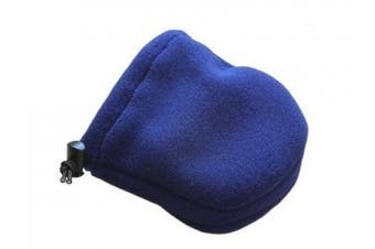 (Blue) - Blue Cast Toe Covers and Socks, Made in USA by Crutch Buddies - Veteran Owned