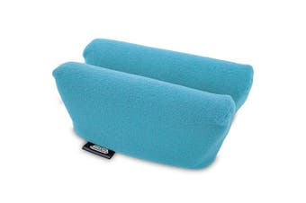 (Turquoise) - Universal Crutch Underarm Pad Covers - Luxurious Soft Fleece with Sculpted Memory Foam Cores (Turquoise)