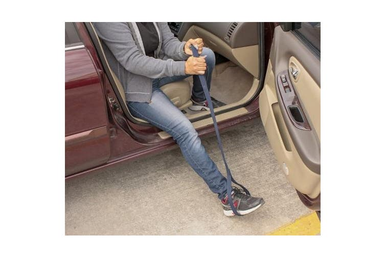 (90cm  Long) - Leg Lifter by RMS | Durable & Rigid Hand Strap & Foot Loop | Ideal Mobility Tool for Wheelchair, Hip & Knee Replacement, Bed or Car (90cm Long)