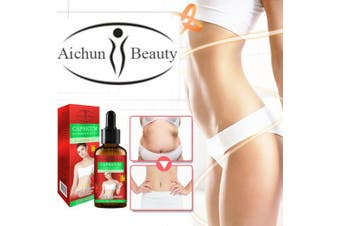 Aichun Beauty CAPSICUM Slimming Body Essential Oil 100% Natural 3 Day Effective 30ml