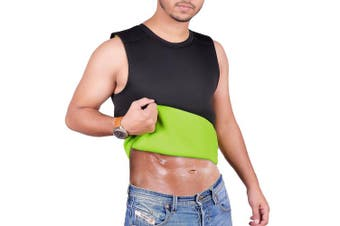 (X-Small) - ARD Men's Body Shaper Sauna Vest Neoprene Tank Top Weight Loss, Burn More Fat and Produce Heat for Workouts Shapewear
