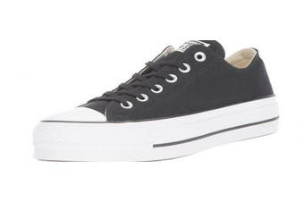 (6 UK, Black (Black/Garnet/White 001)) - Converse Women's Chuck Taylor All Star Lift Low-Top Sneakers Black
