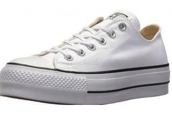 (7.5 UK, White (White/Garnet/Navy 102)) - Converse Women's Chuck Taylor All Star Lift Low-Top Sneakers Black