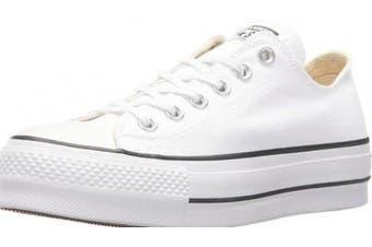 (3.5 UK, White (White/Garnet/Navy 102)) - Converse Women's Chuck Taylor All Star Lift Low-Top Sneakers Black