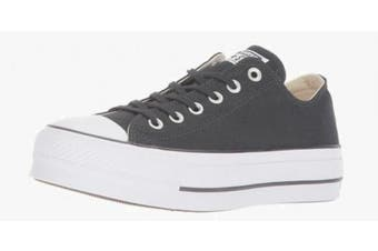 (7 UK, Black (Black/Garnet/White 001)) - Converse Women's Chuck Taylor All Star Lift Low-Top Sneakers Black