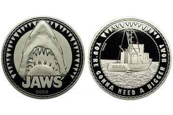 (Jaws) - Iron Gut Publishing Jaws Collectible Coin
