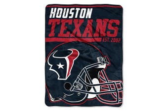 (Houston Texans) - The Northwest Company NFL 40 Yard Dash Micro Raschel Throw, 120cm x 150cm