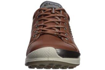 (39 Medium EU (5-5.5 US), Mahogany/Oyester) - ECCO Men's Biom Hybrid 2 Hydromax Golf Shoe
