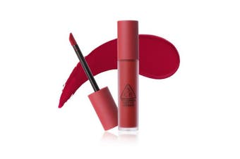 3CE New Soft Lip Lacquer 6g #PERK UP Warm Tone Plum Red Long lasting Tint