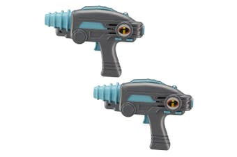 Incredibles 2 Infared Laser Tag Blasters For Kids Lights Up & Vibrates When Hit