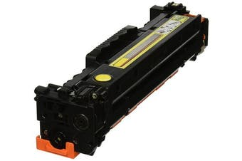 WPP 200129P Remanufactured Yellow Toner Cartridge for HP 304A, Canon 118