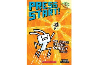 The Super Side-Quest Test!: A Branches Book (Press Start! #6), Volume 6 (Press Start!)