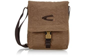 (22 x 26 x 7, Sand) - camel active Messenger Bag B00 604 25 Brown 4.0 litres