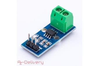 (1x ACS712 30A) - AZDelivery ⭐⭐⭐⭐⭐ ACS712 30A Range Current Sensor Measuring Module for Arduino Bascom including eBook