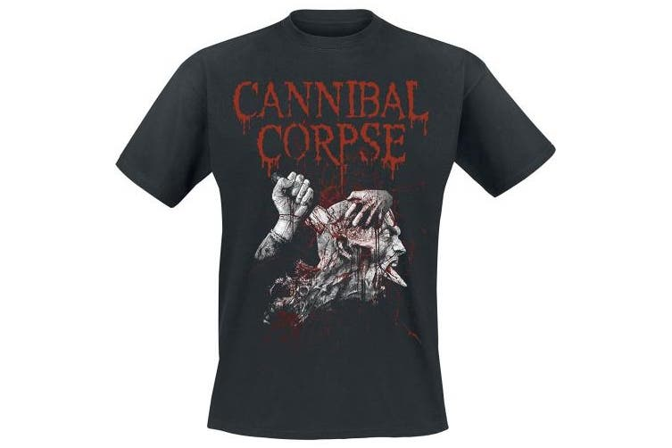 (Medium, Black) - Cannibal Corpse Stabhead 2 T-Shirt Black