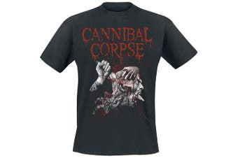(Large, Black) - Cannibal Corpse Stabhead 2 T-Shirt Black