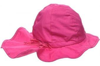 (49, Pink (Magenta 745)) - Sterntaler Baby Girls' Beanie