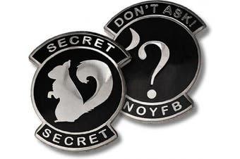 USAF Don't Ask Secret Squirrel NOYFB Challenge Coin