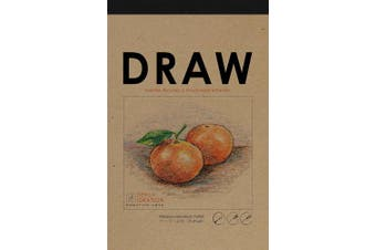Premium Paper Drawing Pad for Pencil, Ink, and Marker. Great for Art, Design and Education. (Big 28cm x 43cm )