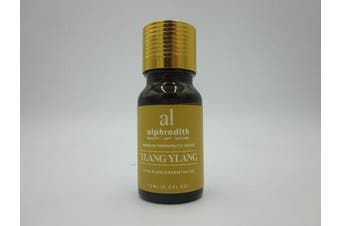 (Ylang Ylang, 10ml) - Premium Aromatherapy Ylang Ylang Essential Oil 100% Organic Pure Undiluted Therapeutic Grade Scented Oils - 10ml for Diffuser, Relaxation, Skin Therapy, Spa & Home