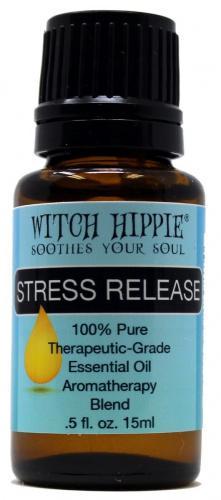 Stress Release Aromatherapy Essential Oil Blend 15ml By Witch Hippie Essential Oils Matt Blatt