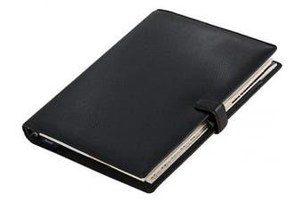 (Black) - Filofax Finsbury Organiser A4 Black
