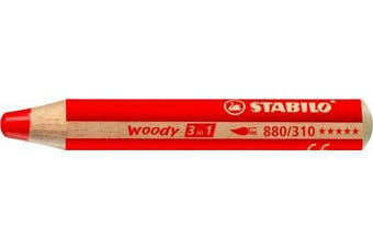 (10 mm) - Stabilo Woody 3 in 1, 18-Colour Set