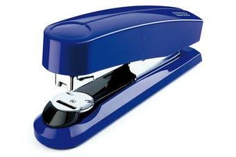 (Flat Clinch, Blue) - Novus B4fc Compact Flat Clinch Stapler, 50 Sheet Capacity, German Engineered, Staple|Pin|Tack, Steel Drive, 25 Yr. Warranty, Blue (020-1468)