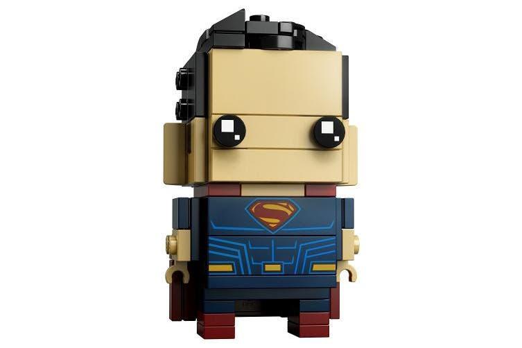 LEGO BrickHeadz Tactical Batman & Superman 41610 Building Kit (209 Piece), Multi
