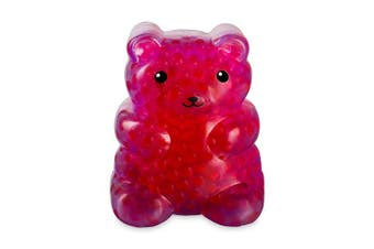 (Jenny Jelly Bear) - Bubbleezz Jumbo 56223 Bubbleez Jenny Jellybear Figure, Polka-Dotted, red, One Size