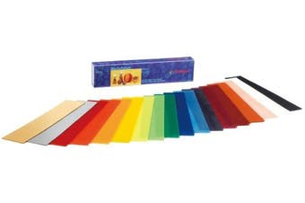 Wax sheets 20x4cm in 18 colours, Stockmar.