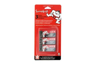 (SumoGrip Premium Block Eraser B80 - 3 CT) - Sakura SumoGrip Premium Block Eraser B80 3/Pkg, Black