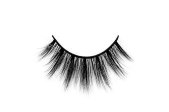 (D76) - Arison Lashes 3D Silk Fibre False Eyelashes Soft Long Faux Mink Eyelashes 1 Pair Package (D76)
