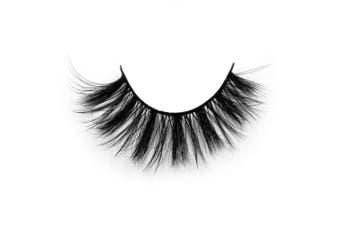 (D26) - Arison Lashes 3D Silk Fibre False Eyelashes Soft Long Faux Mink Eyelashes 1 Pair Package (D26)