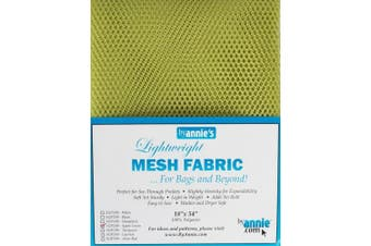 ByAnnie's Lightweight Mesh Fabric 46cm x 140cm 100% Polyester