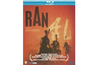 RAN - Japanese BLU RAY movie HK version (Region A) (NTSC) Akira Kurosawa (English subtitled)