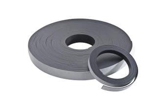 Baumgartens BAU66010 Adhesive Magnetic Tape- Flexible- .50in.x10ft.- Black