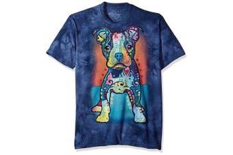 (Medium, Blue) - The Mountain Men's on My Own T-Shirt