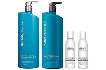 Keratin Complex Colour Care Shampoo n Conditioner 1000mls and Travel Set