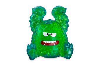 (Simon Snow Sniff) - Bubbleezz Jumbo 55219 Bubbleez Simon SnowBeast Figure, Polka-Dotted, Green, One Size