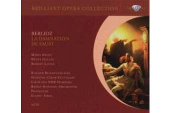 Berlioz Damnation Of Faust. Maria Ewing Denes Gulyas Robert Lloyd Manfred Volz And Christi