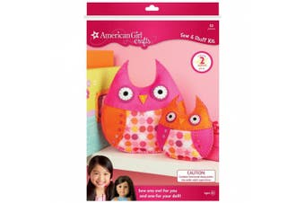 (1, Owls) - American Girl Sew & Stuff Kit - Owls