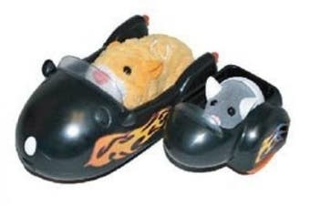 Zhu Zhu Pets Vehicle Playset Hamcycle Sidecar