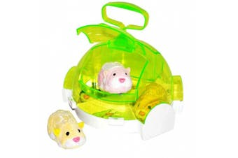 Zhu Zhu Pets Hamster on the Go Playset - Hotel
