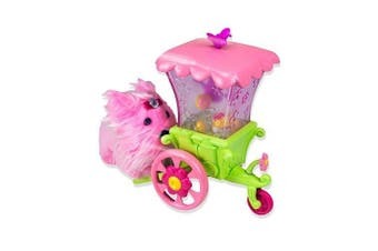 Zhu Zhu Puppies Push-a-Longs - Flower Cart