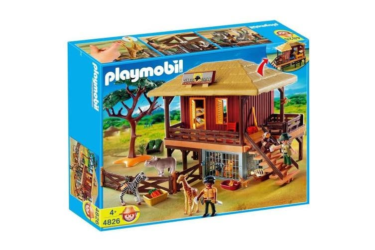 Playmobil African Playset - Animal Care Station