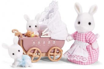 (Connor & Kerri's Carriage Ride) - Calico Critters Carriage Ride Playset
