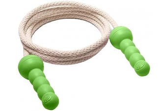 (Green) - Green Toys Jump Rope - BPA Free, Phthalates Free, Green Handle Skipping Rope for Better Health, Increased Concentration. Fitness Equipment